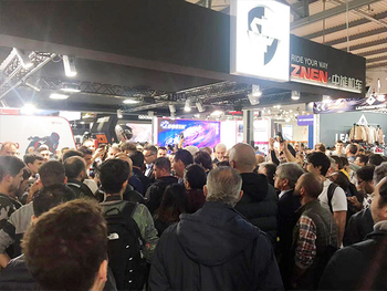 Zhongneng Vehicle Group exhibited at EICMA, Milan, Italy