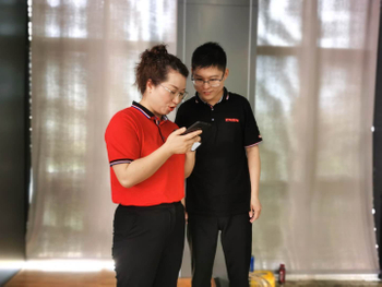 The live rehearsal of online Canton Fair is in progress in spring 2020