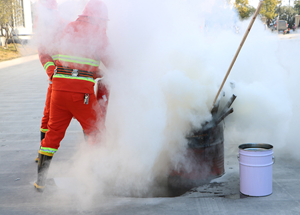 ZNEN carries out emergency drills for environmental pollution emergencies